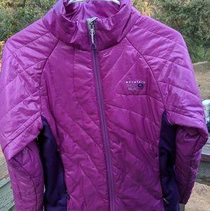 Womens Mountain Hardwear, half puffer jacket!